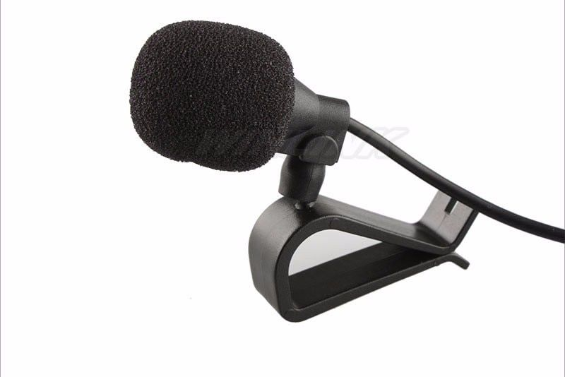 High Quality! Black Hands Free Clip on 3.5mm Mini Studio Speech Microphone For Ownice C300/C500