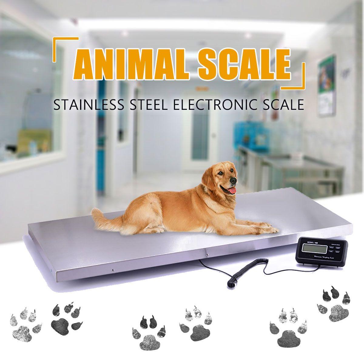 Schwere Elektronische Balance Boden Bench Gewicht Kommerziellen Waagen Digitale Plattform Waagen Tier/Paket Plattform Skala 300 kg