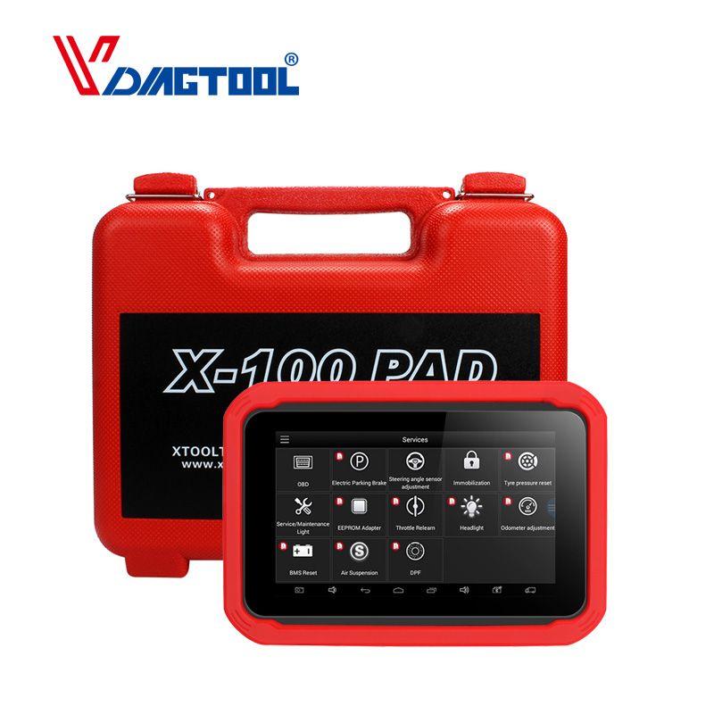 Original XTOOL X100 PAD Professionelle Auto Schlüssel Programmierer Kilometerzähler Einstellung Öl Reset X100 Pad Freies Update 2 Jahre