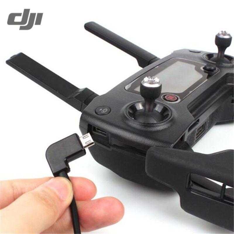 DJI Funken Mavic Pro RC Drone Fernbedienung Sender Daten Umwandlung External Connector USB Kabel Smartphone Tabletten