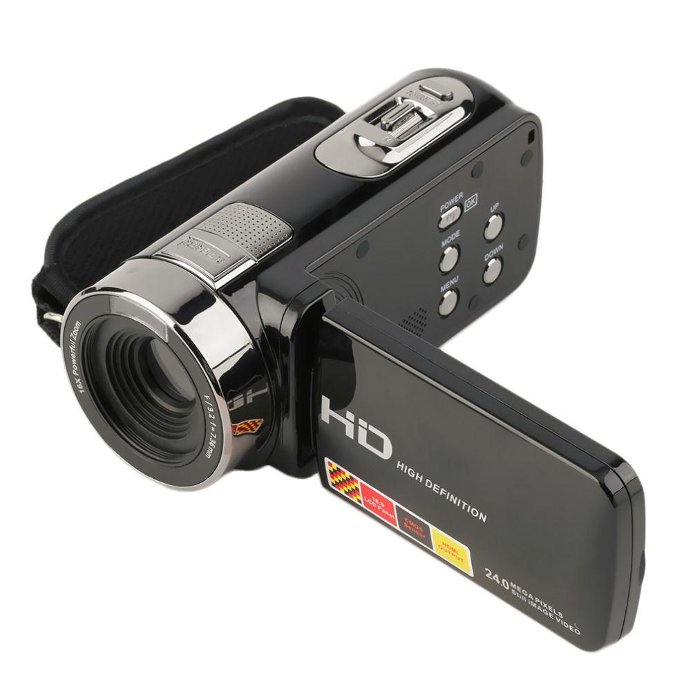 3.0 inch FHD 1080P 16X Digital Zoom 24MP Digital Video Camera Camcorder DV 2017 New Arrival dropshipping