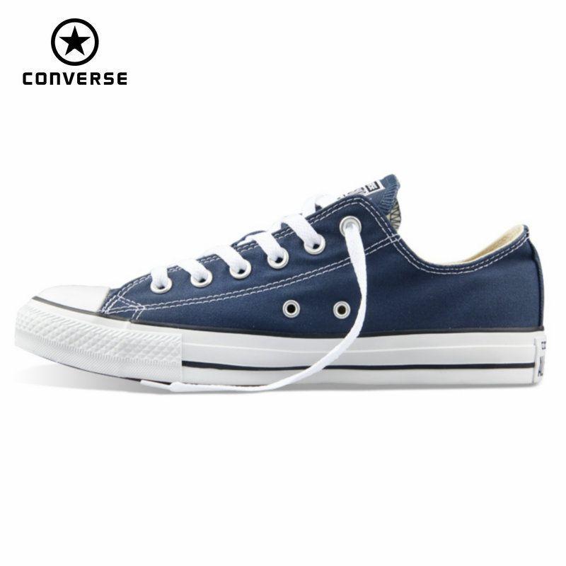 Original converse all star leinwand schuhe männer und frauen turnschuhe für männer frauen low klassischen skateboard-schuhe freies verschiffen