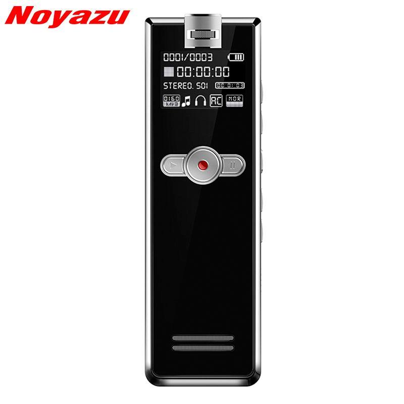 Noyazu F2 16 GB Mini Professionelle Rauschunterdrückung Sound Recorder Mit Telefon-aufnahme Diktiergerät Voice Activated Recorder