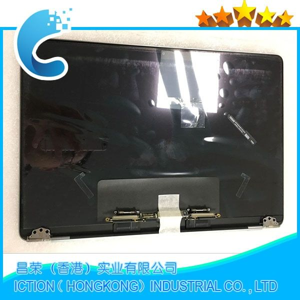 Genuine New A1706 A1708 Grey Silver Color for Macbook Pro Retina 13 A1706 A1708 LCD Screen Complete Assembly Late 2016 Mid 2017