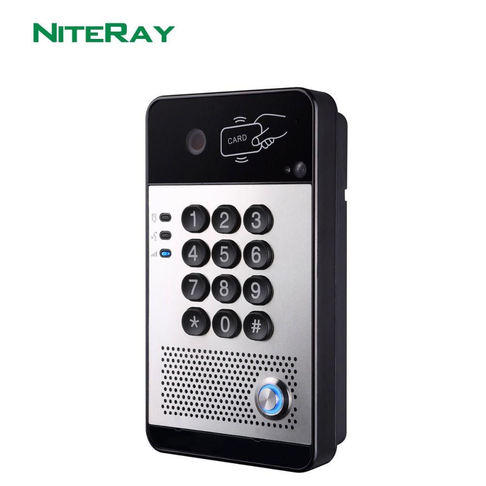 SIP Video Tür Telefon Video Intercom System Kompatibel Mit Asterisk/Alcatel/Avaya/Cisco PBX