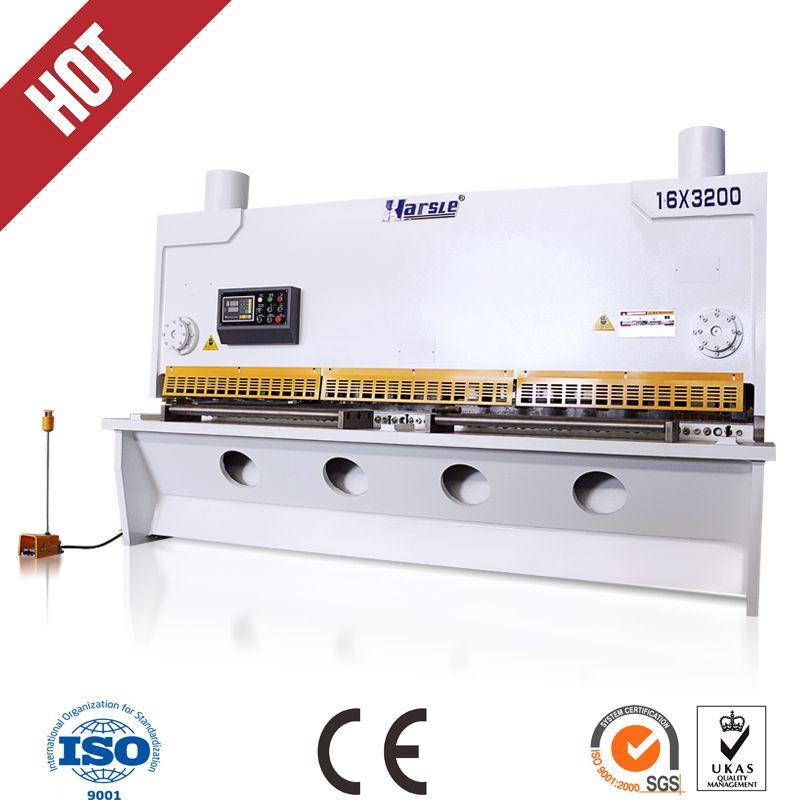 iron boards hydraulic shearing machine
