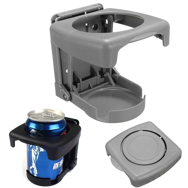 Universal Folding Car Cup Holder Multi-functional Drink Holder Auto Supplies Car Cup Car Styling Black Car Drink Cup Holder