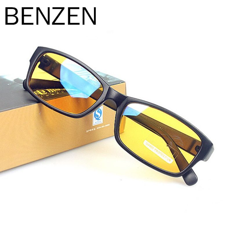 BENZEN Anti Blue Rays Computer Goggles Reading Glasses 100% UV400 Radiation-resistant Glasses Computer Gaming Glasses 5021