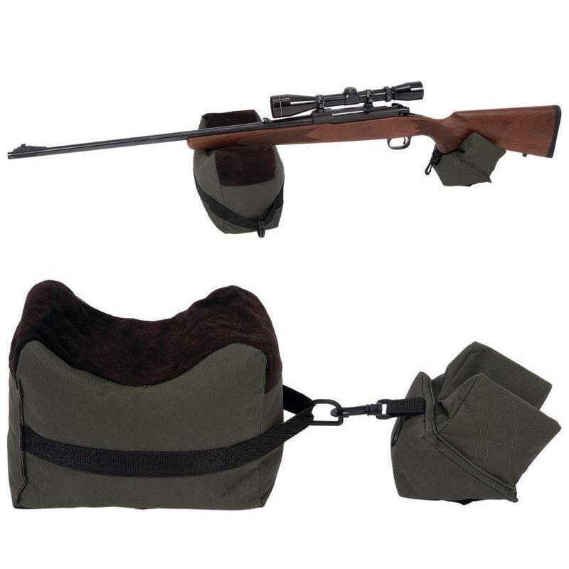 Portable tir avant et arrière banc de repos sacs pistolet reste portée fusil cible banc non rempli Stand chasse fusil de chasse accessoires