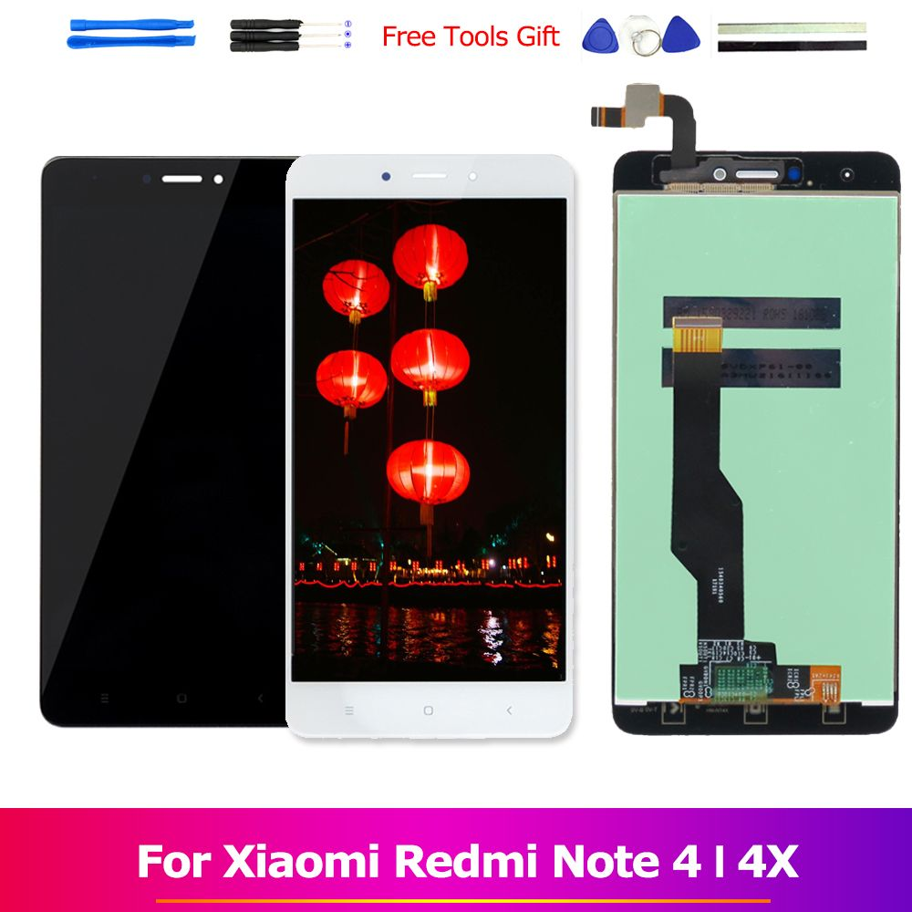 Redmi Note 4X LCD Assembly Display for Xiaomi Redmi Note 4 MTK Helio X20 Touch Screen Redmi Note 4 Global Note 4X Snapdragon 625