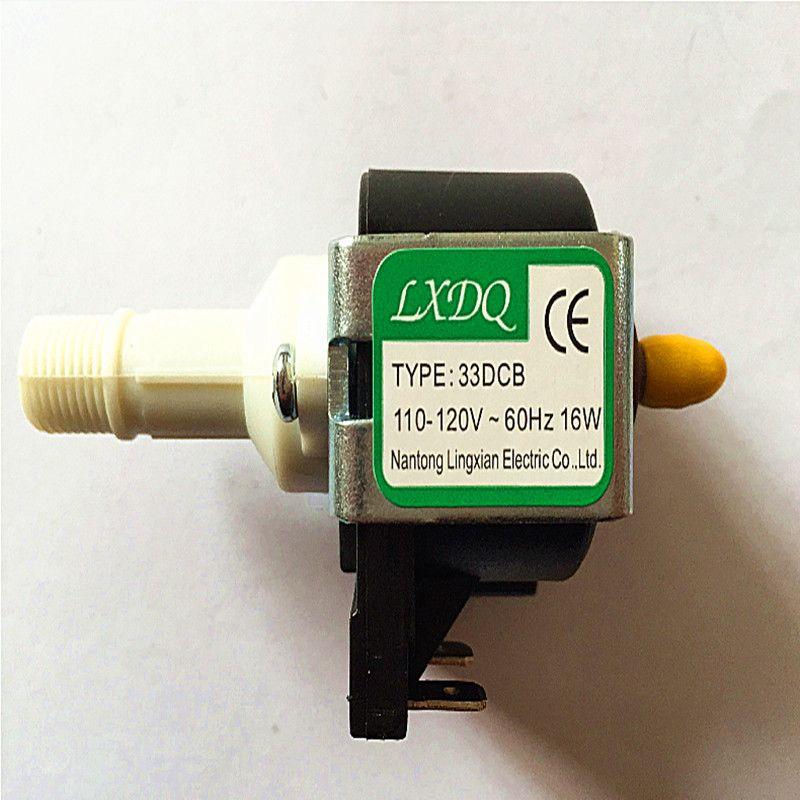 400W ~ 900W stage smoke machine dedicated electromagnetic pump models 33DCB voltage 110-120V-60Hz Power 16W