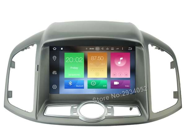 FOR CHEVROLET CAPTIVA 2012 Android 8.0 Car DVD player Octa-Core(8Core) 4G RAM 1080P 32GB ROM WIFI gps head device unit stereo