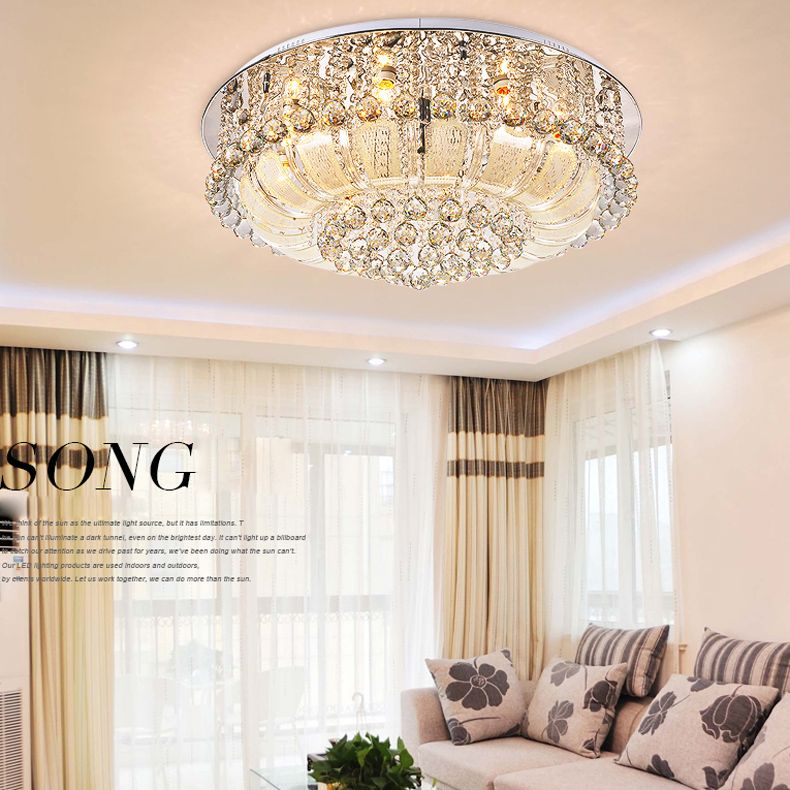 Creative LED Crystal ceiling light lamp Entrance ligts Hall light Aisle lamp with 3w LED LED K9 crystal ceiling lights