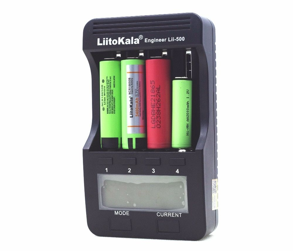 Liitokala lii500 LCD 3.7V/1.2V AA/AAA 18650/26650/16340/<font><b>14500</b></font>/10440/18500 Battery Charger with screen lii-500 5V1A Liitokala