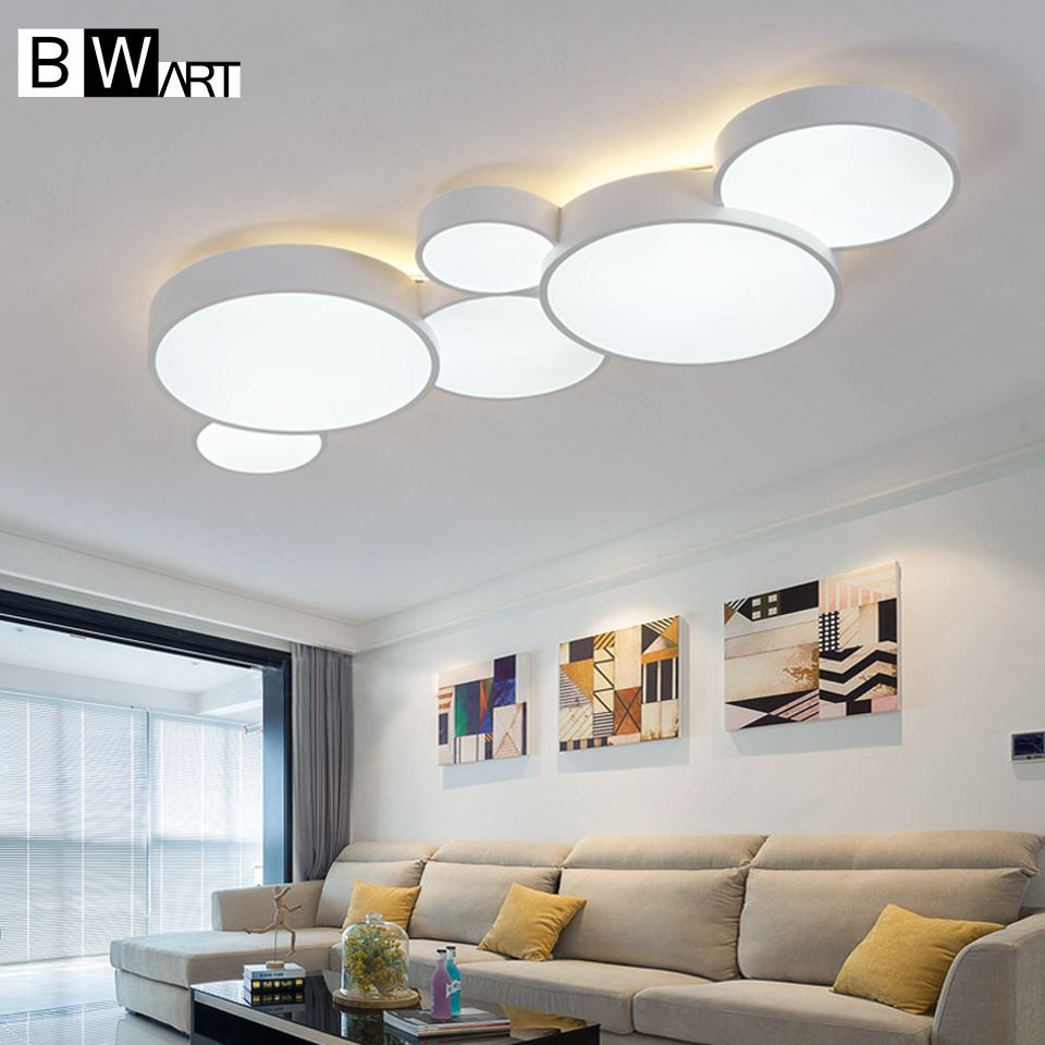 BWART Modern LED ceiling chandelier for living room Entrance Dining Room Smart house Lamp Home Lighting Fixtures hall ceiling