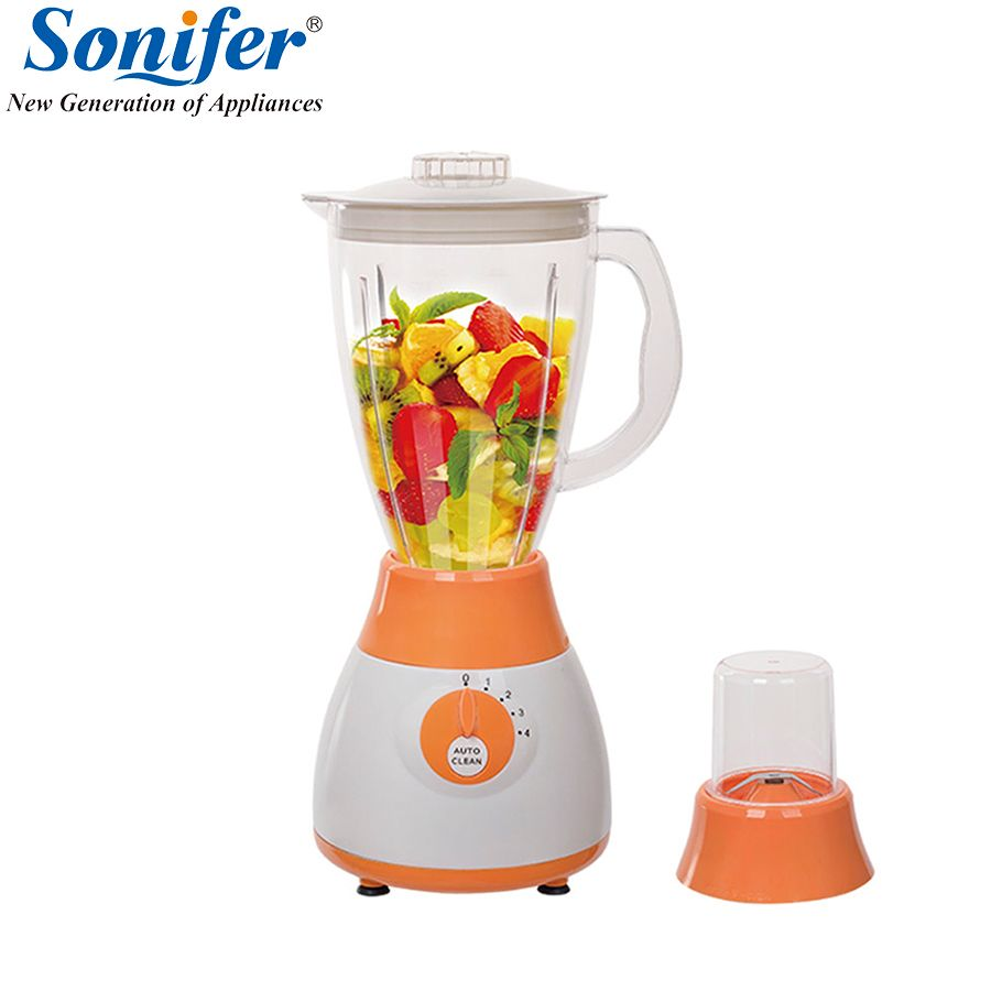 Colorful Multifunction electric food blender mixer kitchen 4 speeds standing blender vegetable Meat Grinder stand blend Sonifer
