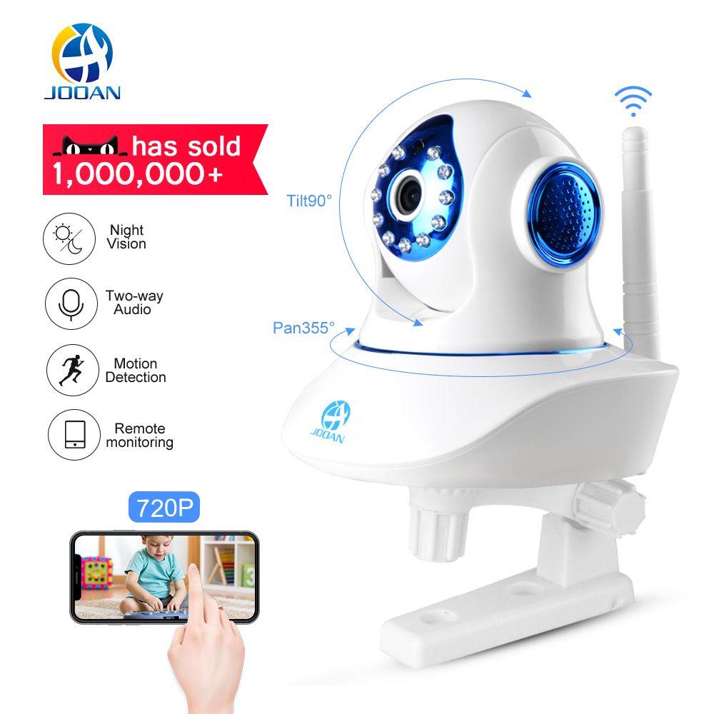 JOOAN Wireless IP Camera 720P HD smart WiFi Home Security Infrared Night Vision Video Surveillance CCTV Camera Baby Monitor