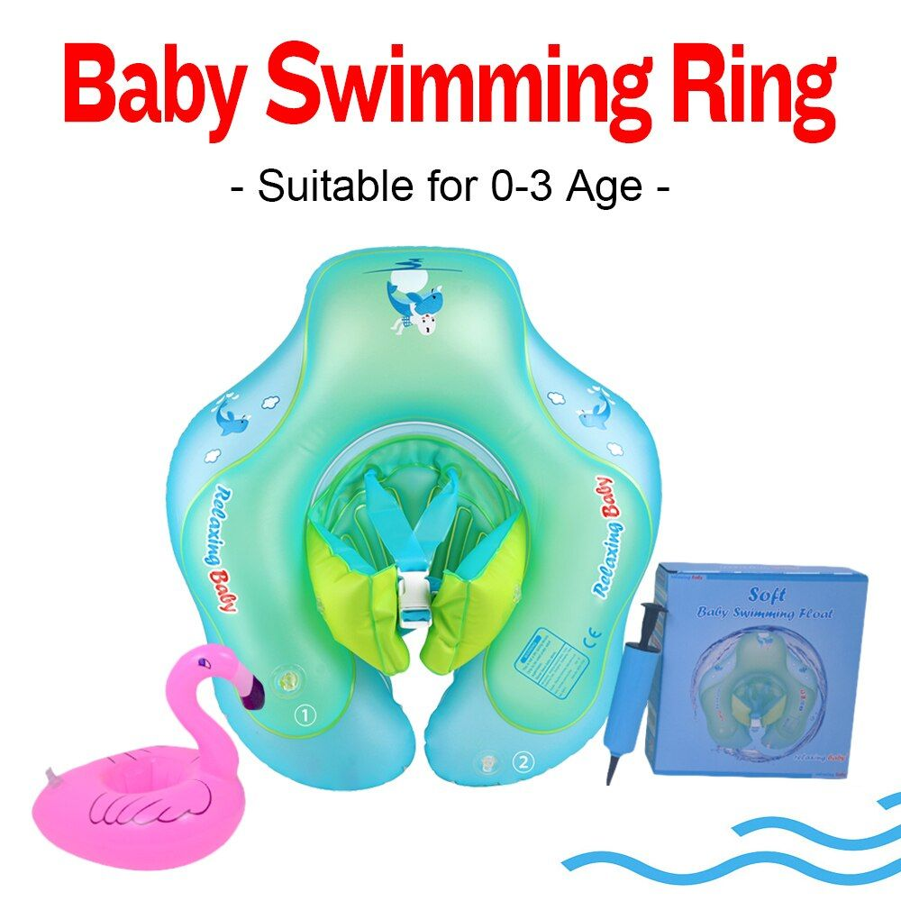 Relaxing Baby Inflatable Circle Float Swimming Circle for Kids Swim Pool Bathing Accessories with Gifts Dropshipping