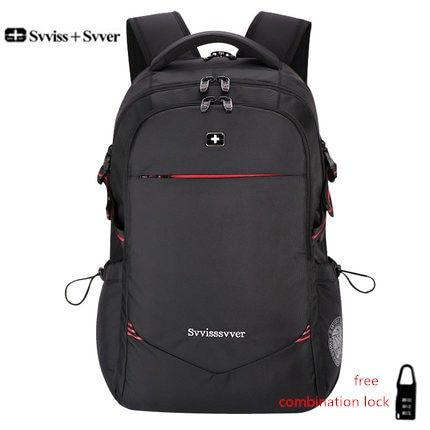 svvisssvver male men Multifunction USB charging fashion business casual tourist anti-theft waterproof 15.6 inch Laptop backpack