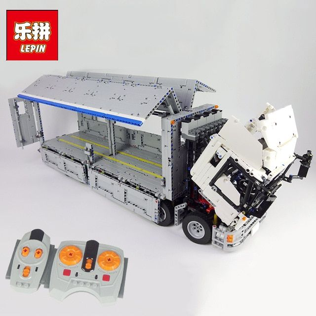 New Lepin 23008 4380Pcs Technical Series The MOC Wing Body Truck Set 1389 Educational Building Block Bricks Children Toys Gift