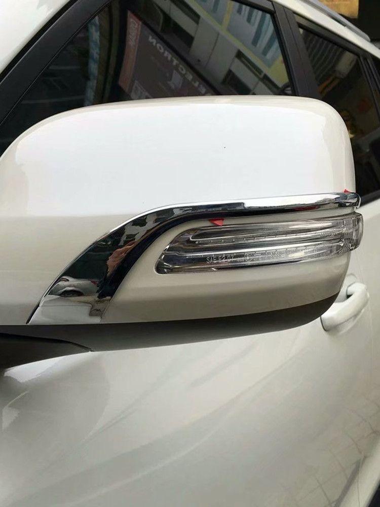 Couvercle de rétroviseur de voiture, garniture de rétroviseur arrière automatique pour Toyota Prado 2018 ABS