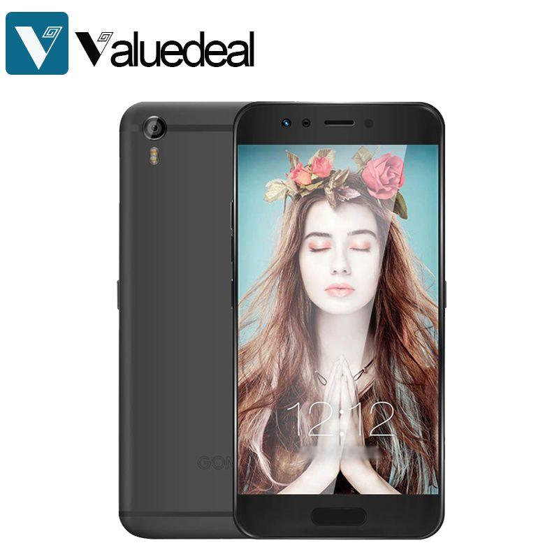 Original <font><b>GOME</b></font> K1 Android 6.0 5.2 Inch 4G LTE Smartphone FHD Screen 4GB RAM 128GB ROM Helio P20 MTK6757 2.3GHz Octa Core phone