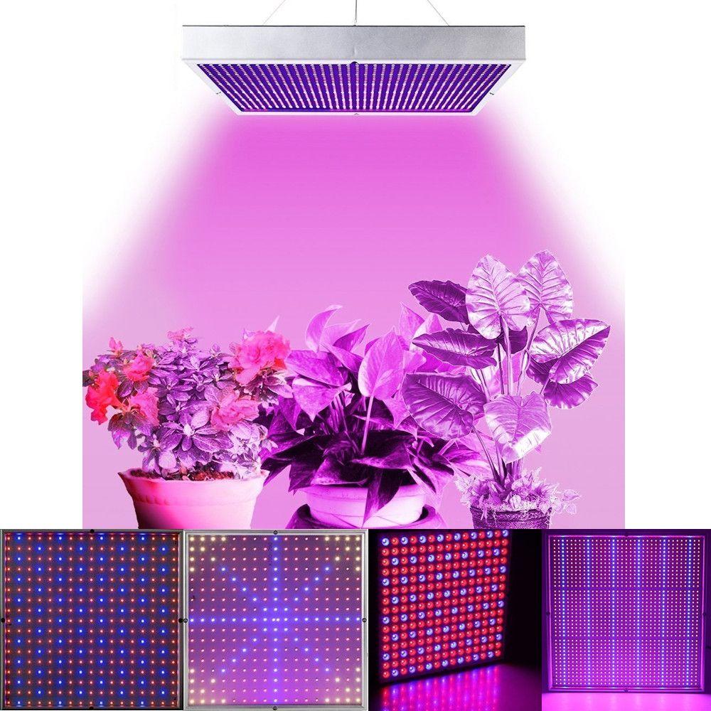 20 W/30 W/45 W/120 W/200 W Full Spectrum LED Élèvent La Lumière 85 ~ 265 V Panneau Élèvent La Lampe Pour Plante D'intérieur et Fleur Hydroponique Boîte À Effet De Serre