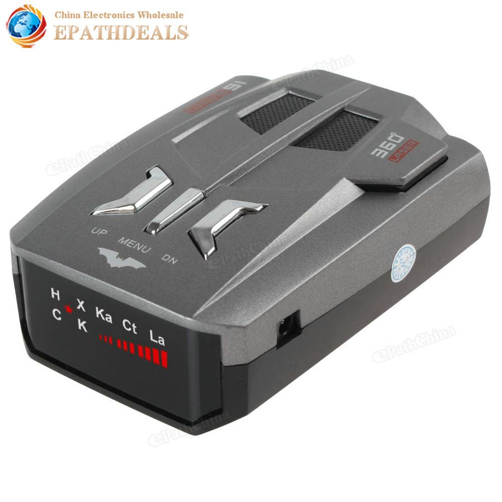 V9 Russian / English Car Radar Detector 16 Brand LED Display X K NK Ku Ka Laser Speed Voice Warning Anti Radar Detector