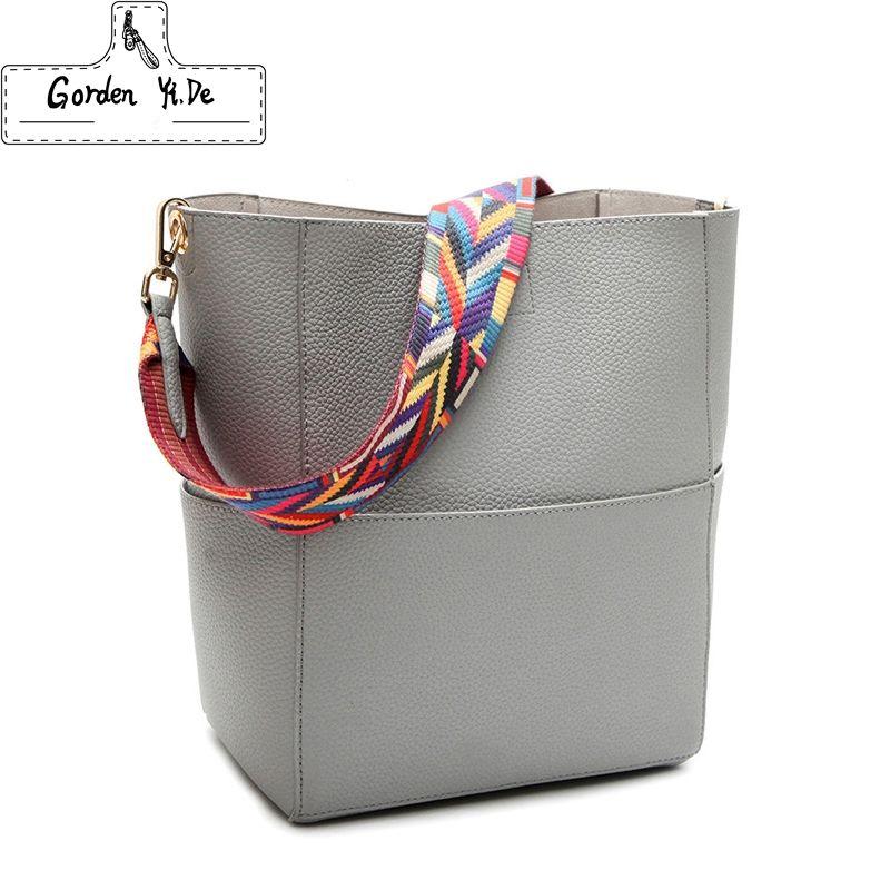2018 New Luxury <font><b>Handbags</b></font> Women Bag Designer Brand Famous Shoulder Bag Female Vintage Satchel Bag Pu Leather Gray Crossbody