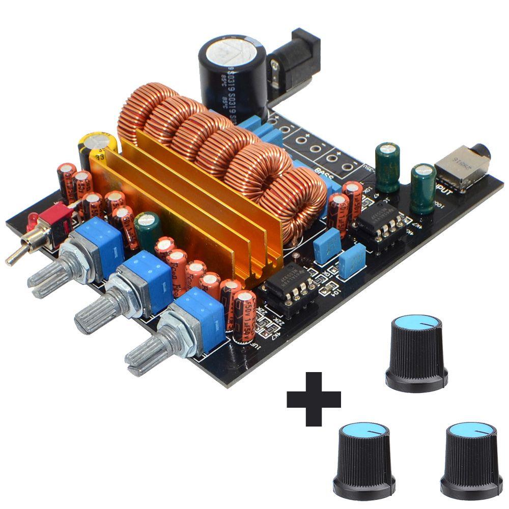 Nouveau TPA3116 2.1 carte amplificateur numérique classe D 3 canaux DC18V-24V 2*50 W + 100 W livraison gratuite 12003203