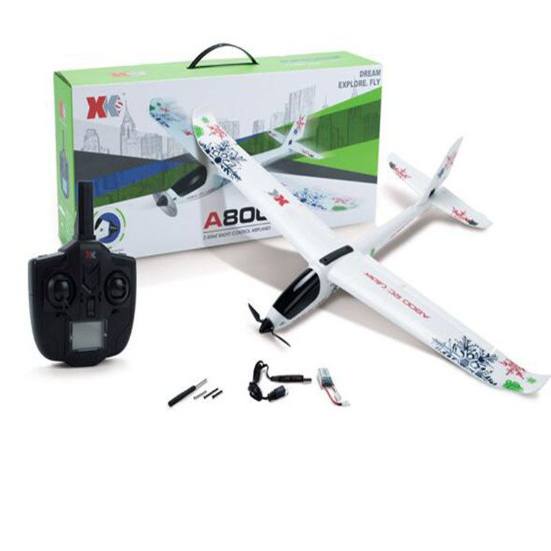 Aircraft Model A800 5CH 3D 6G Mode 780mm Wingspan Fly Aircraft RC Airplane RTR Fixed Wing RC Plane Children Xmas Birthday Gift