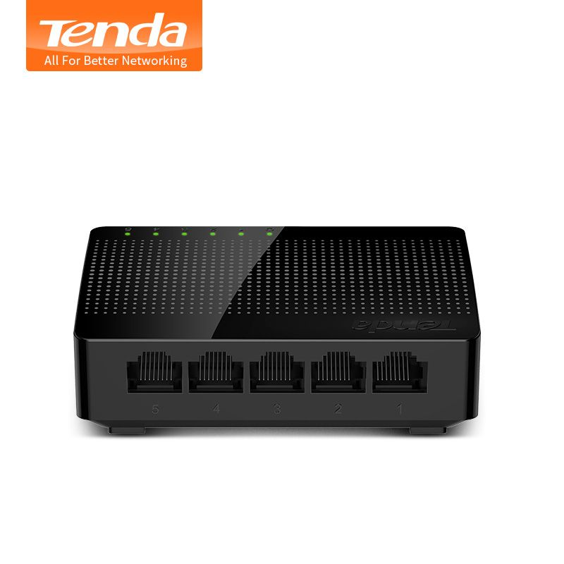 Tenda SG105 Mini 5-Port Desktop Gigabit Switch / Fast Ethernet Network Switch LAN Hub/ Full or Half duplex Exchange