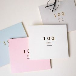 100 Jours Compte À Rebours Calendrier Planificateur Quotidien pour 100 Jours D'apprentissage Calendrier Périodique Agenda Planificateur Fournitures Scolaires Papeterie
