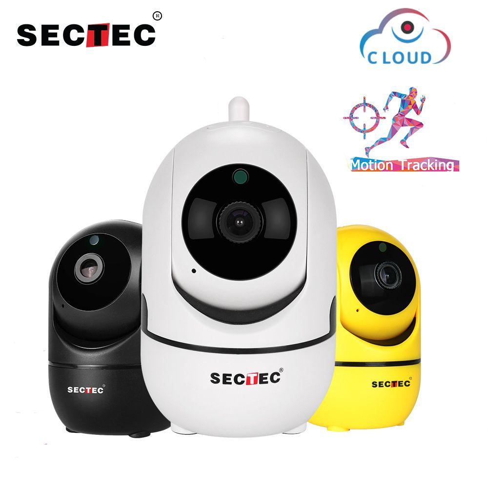 SECTEC 1080 p Nuage Caméra IP Sans Fil Intelligent De Suivi Automatique De Surveillance de Sécurité À la Maison de Réseau de télévision en CIRCUIT FERMÉ Wifi Cam