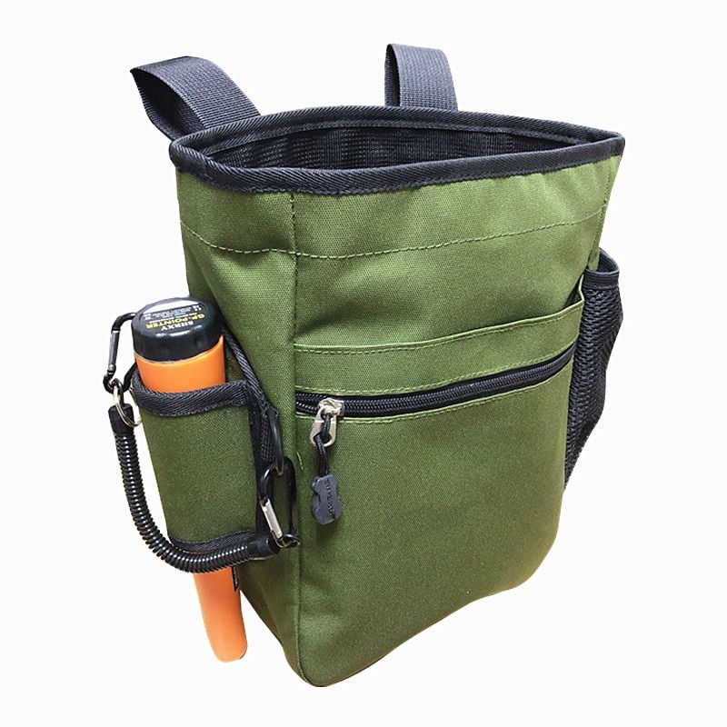 SHRXY Pinpointing Metal Detector Find Bag Multi-purpose Digger Tools Bag for PinPointer Detector Xp Pack Mule Pouch