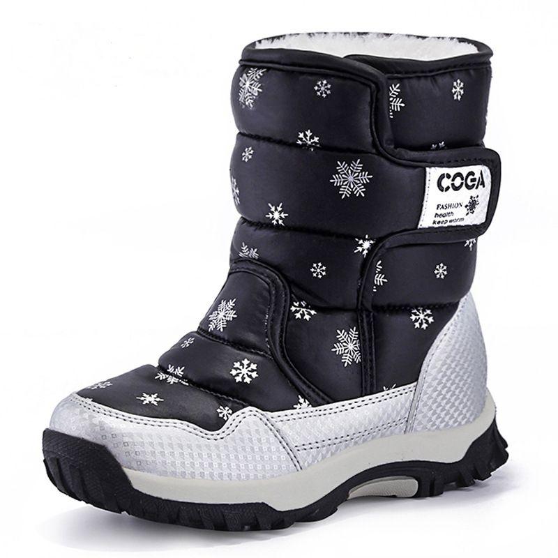 Zapatos de las muchachas Zapatos de Los Niños Para Las Niñas de Invierno Caminando Niños Zapatillas Moda Niños Ocasional Comforable Caliente de la Zapatilla de deporte 2017
