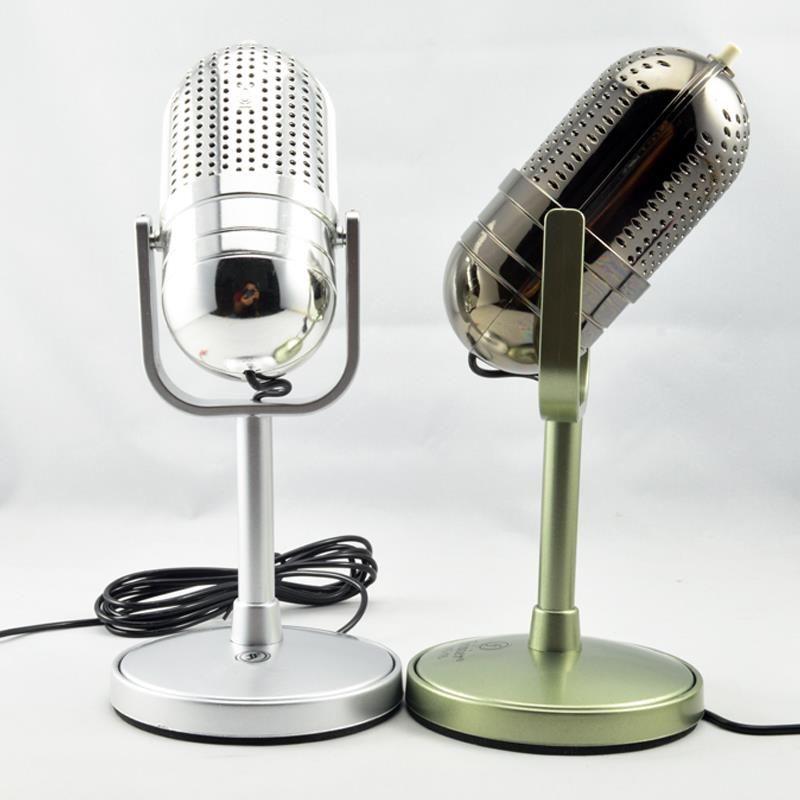 Classical Design Vintage Retro PC Laptop Studio Gooseneck Microphone MIC FE16