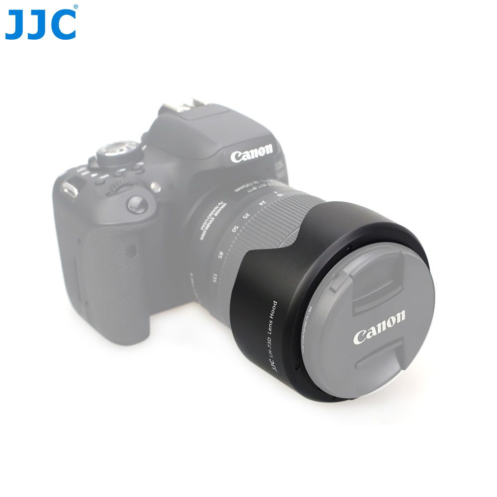 JJC LH-73D Bayonet Camera Flower Lens Hood for Canon EF-S 18-135mm f/3.5-5.6 IS USM Lens replaces EW-73D