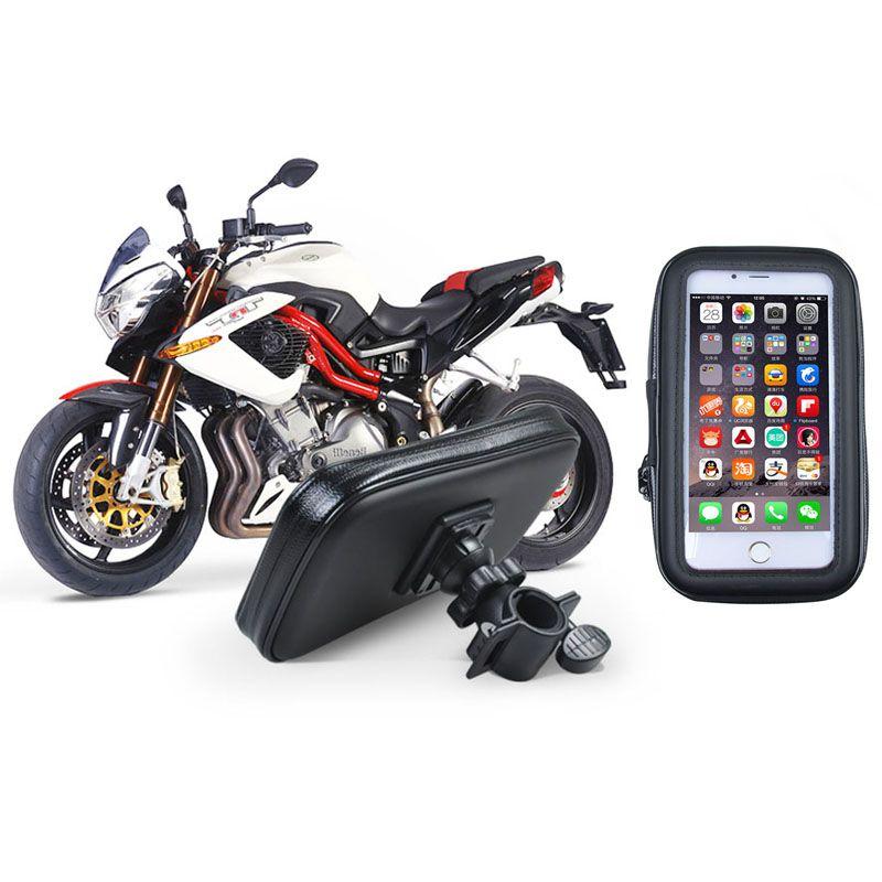 Moto universelle support de téléphone étanche grande taille vélo support pour smartphone iphone 6 6 s plus Galaxy