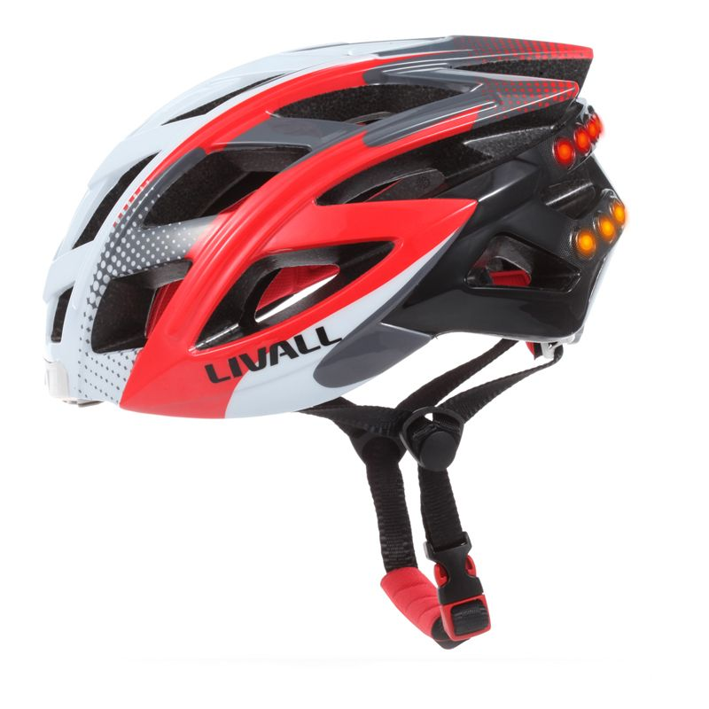 LIVALL Smart Fahrradhelm Mit Lichter/Musik/Nehmen Foto/SOS Alarm/Sharing Fahrradhelm, Bluetooth Helm Telefon Antwort Helm
