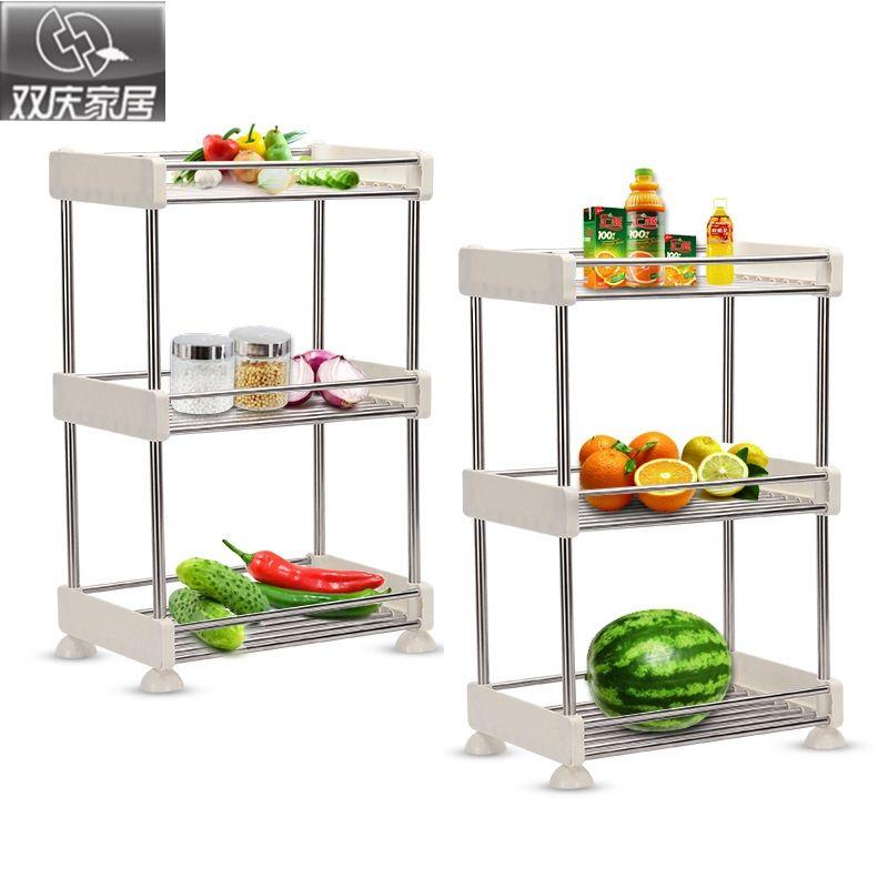 Salle de bains shevles qualité supérieure en plastique pliable cuisine étagère de rangement amovible mode articles divers espace organisateur