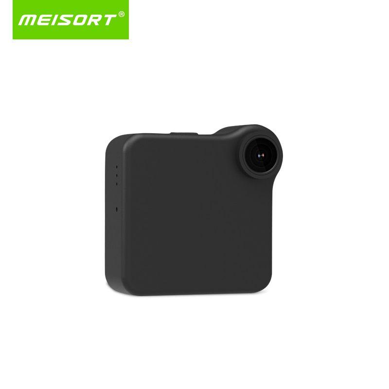Meisort wifi P2P Mini Camera HD 720P Wearable IP Camera Motion Sensor Bike Body Micro Mini DV DVR Magnetic <font><b>Clip</b></font> Voice