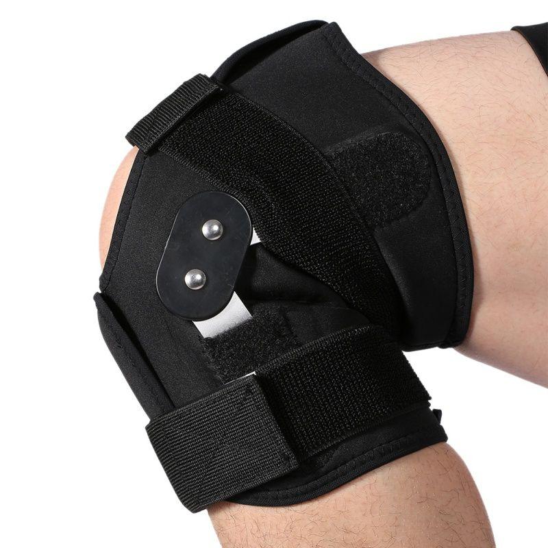 En plein air Réglable Support Genou Pad Brace Protector Rotule Genou Soutien Arthrite Du Genou Jambe Compression Manches Genouillère