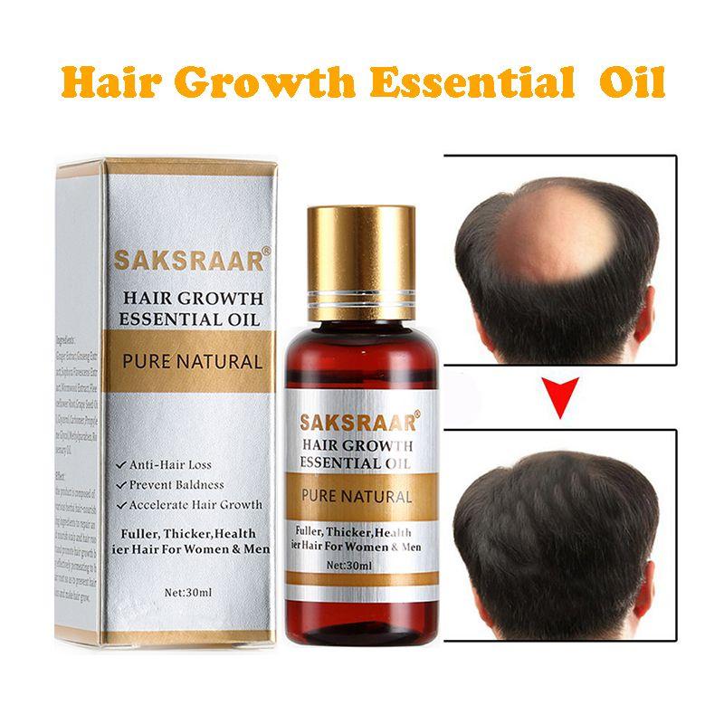 Soins capillaires croissance des cheveux huiles essentielles Essence Original authentique 100% perte de cheveux liquide soins de santé beauté Dense cheveux croissance sérum