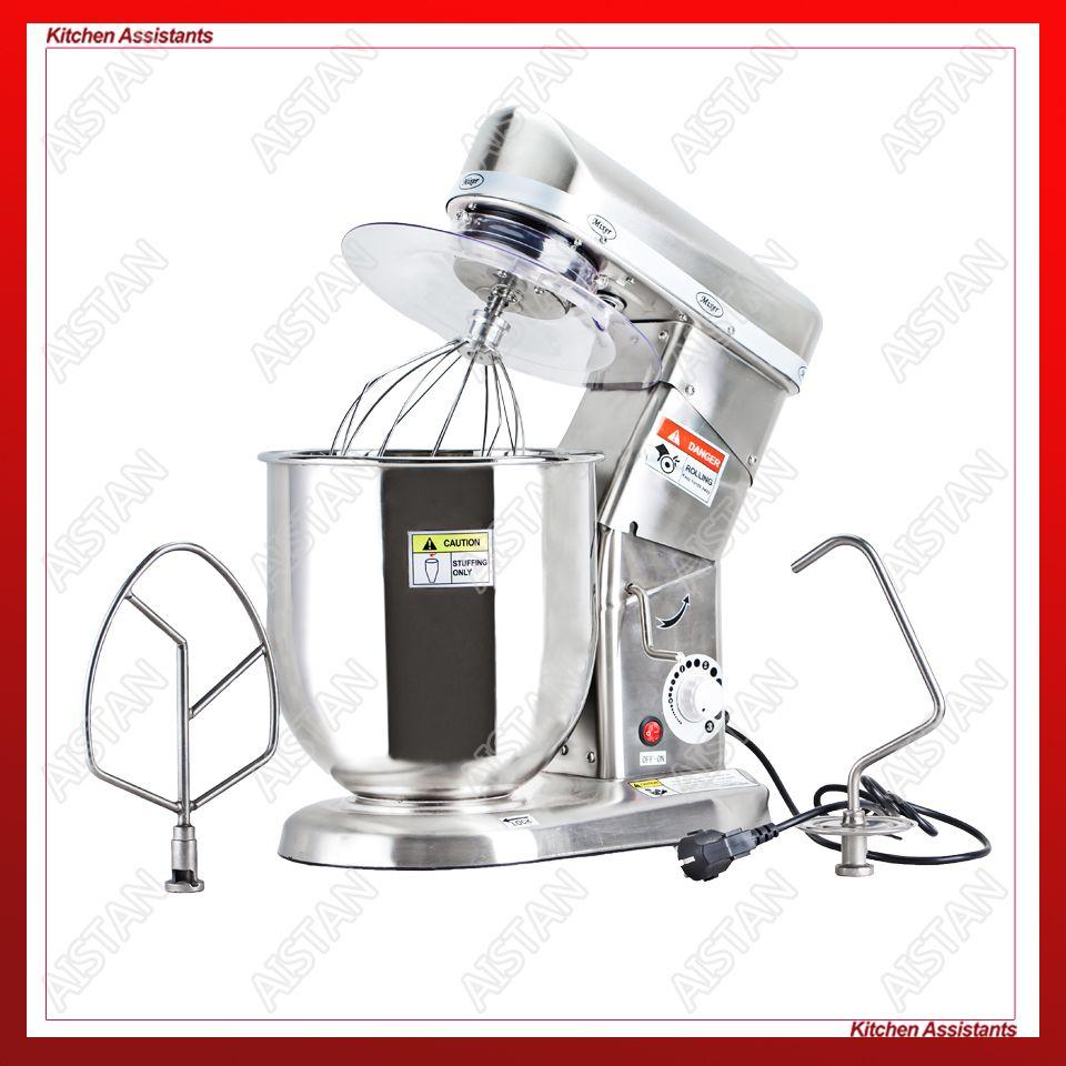 Heimgebrauch oder kommerziellen verwenden 7, 10 Liter elektrische stand mixer, planeten kochen mixer, schneebesen, teig mischer maschine