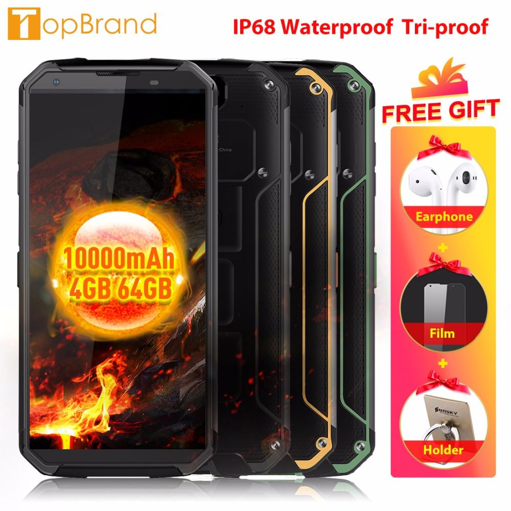 Blackview BV9500 4G Mobile Phone Android 8.1 Octa Core 5.7