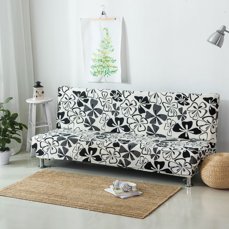 Elastic Case For Sofa Without Handrail Printed Sofa Covers Couch Cover For Sofa Bed Cover For Couch Stretch Furniture Covers