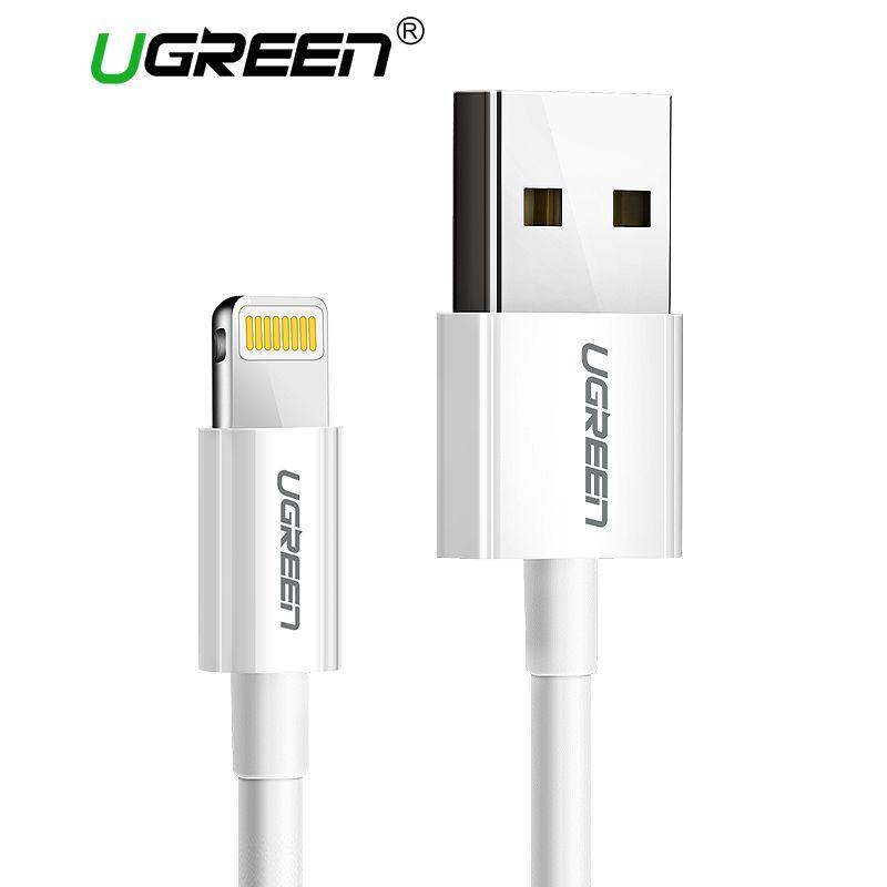 Ugreen Usb-kabel für iPhone 8 2.4A MFi Blitz zum Usb-kabel Schnellladung Datenkabel für iPhone 7 6 5 s iPad Handy kabel