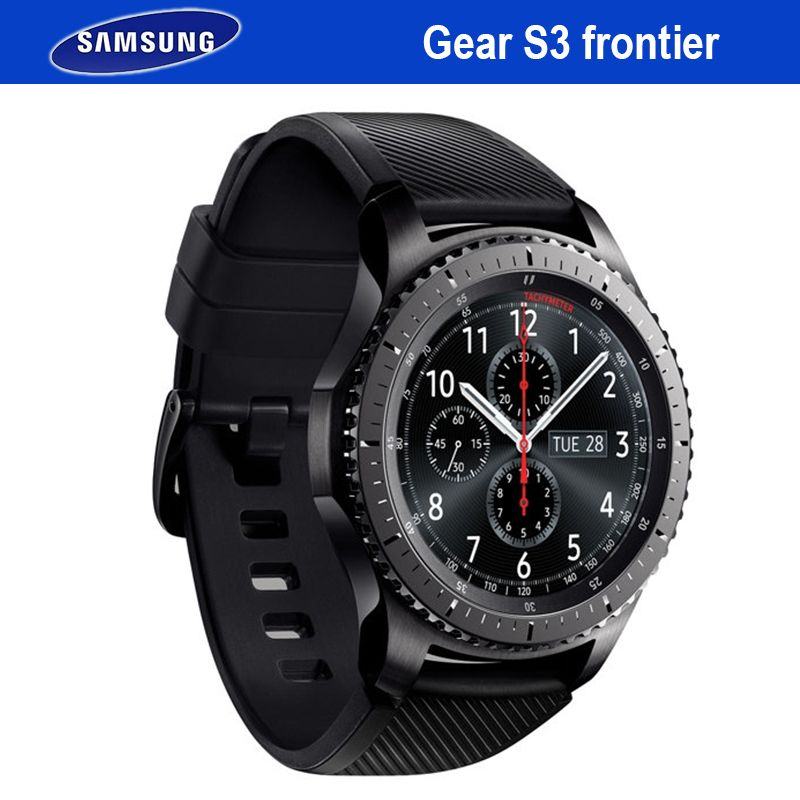 Samsung Getriebe S3 Frontier Smartwatch GPS Bluetooth Fitness Herzfrequenz Im Freien Tragbare Smart Uhr Wasserdichte Für iPhone Android