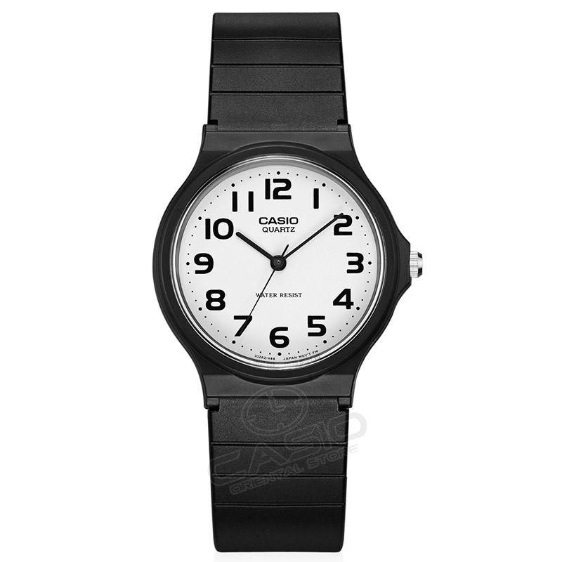 Casio Watch Fashion Wristwatches Watches Men Quartz-Watch Ultra-thin Fashion Ultra-light Small dial Men and women can wear MQ-24